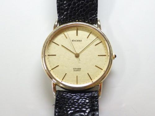 クォーツ式腕時計修理---シチズンエクシード2730クォーツ腕時計【times-machine.com】《 時計修理 》【三田時計メガネ店@栃木県大田原市前田】