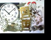 アイコー31日巻カギ巻柱時計 分解掃除(オーバーホール)---もうちょっと詳しく・・・拡大版【OVERHAUL】《 時計分解 》【times-machine.com】時計修理の分解工程・組立工程へ