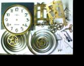 エイケイシャ8日巻カギ巻柱時計 分解掃除(オーバーホール)---もうちょっと詳しく・・・拡大版【時計修理】機械式柱時計修理1 ケース・外観 修復再生修理へ