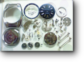 セカンドメイク・ブルガリ自動巻腕時計 分解掃除(オーバーホール)