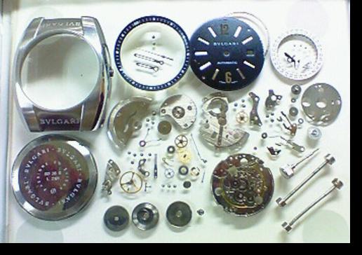 2.セカンドメイク・ブルガリ自動巻腕時計 分解掃除(オーバーホール)