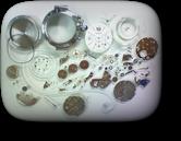 オモチャ自動巻腕時計 分解掃除(オーバーホール)---もうちょっと詳しく・・・拡大版【OVERHAUL】《 時計分解 》【times-machine.com】時計修理の分解工程・組立工程へ