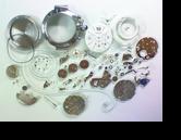 セカンドメイク・カルティエ自動巻腕時計 分解掃除(オーバーホール)---もうちょっと詳しく・・・拡大版【OVERHAUL】《 時計分解 》【times-machine.com】時計修理の分解工程・組立工程へ