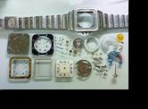 カルティエCartierB7クォーツ腕時計 分解掃除(オーバーホール)