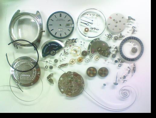 12.シチズンセブンスターデラックス5270自動巻腕時計 分解掃除(オーバーホール)