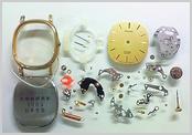 クォーツ式腕時計修理---クォーツ腕時計 分解掃除(オーバーホール)【times-machine.com】《 時計修理 》【三田時計メガネ店@栃木県大田原市前田】