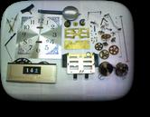 シチズン30日巻カギ巻柱時計 分解掃除(オーバーホール)---もうちょっと詳しく・・・拡大版【OVERHAUL】《 時計分解 》【times-machine.com】時計修理の分解工程・組立工程へ