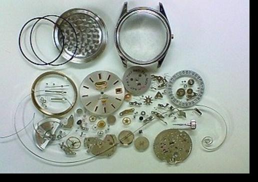 10.シチズンクリスタルセブン5270B自動巻腕時計 分解掃除(オーバーホール)