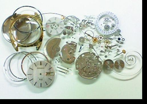 9.シチズンセブンスターV27290K自動巻腕時計 分解掃除(オーバーホール)