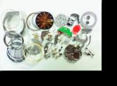 シチズンコスモトロン7804A電子腕時計 分解掃除(オーバーホール)---もうちょっと詳しく・・・拡大版【時計修理】機械式腕時計修理1 ケース・ガラス 新品仕上げ修復再生修理へ