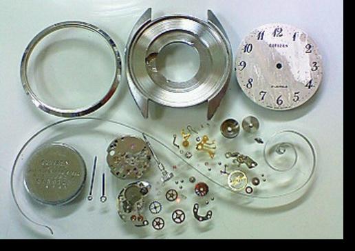 2.シチズン6302A手巻腕時計 分解掃除(オーバーホール)