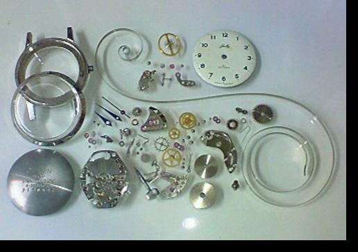 6.シチズンジュリー2302N手巻腕時計 分解掃除(オーバーホール)