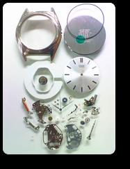 クォーツ式腕時計修理---シチズンジャンクション1032Aクォーツ腕時計 分解掃除(オーバーホール)【times-machine.com】《 時計修理 》【三田時計メガネ店@栃木県大田原市前田】