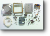 シチズンアラーム2400クォーツ腕時計 分解掃除(オーバーホール)