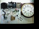 シチズンリズムクォーツ柱時計ウィルミントン 分解掃除(オーバーホール)