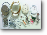 シチズンシルフ5421Aクォーツ腕時計 分解掃除(オーバーホール)