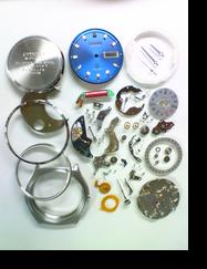 クォーツ式腕時計修理---シチズンクリストロン8620Aクォーツ腕時計 分解掃除(オーバーホール)【times-machine.com】《 時計修理 》【三田時計メガネ店@栃木県大田原市前田】