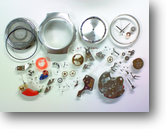 シチズンX8 0802電子腕時計 分解掃除(オーバーホール)---もうちょっと詳しく・・・拡大版【時計修理】機械式腕時計修理8 電磁テンプ式 電子回路不良へ