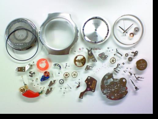 10.シチズンX80802電子腕時計 分解掃除(オーバーホール)