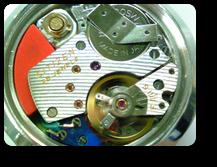 シチズンX80802電子腕時計の機械