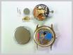 クォーツ式腕時計修理---RONDAの機械からETAの機械へ、改造機械交換【times-machine.com】《 時計修理 》【三田時計メガネ店@栃木県大田原市前田】