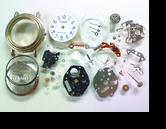 D'AMOSY121Gクォーツ腕時計 分解掃除(オーバーホール)---もうちょっと詳しく・・・拡大版【OVERHAUL】《 時計分解 》【times-machine.com】時計修理の分解工程・組立工程へ