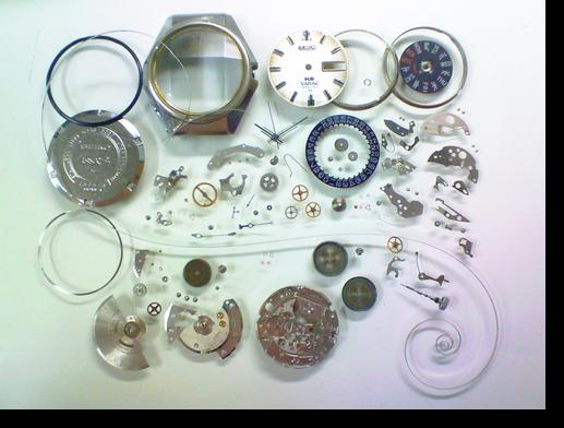 25.キングセイコー5246A自動巻腕時計 分解掃除(オーバーホール)