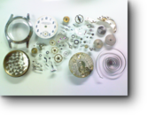 LEONIDAS手巻腕時計 分解掃除(オーバーホール)
