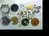 モンブランクロノグラフETA251272クォーツ腕時計 分解掃除(オーバーホール)