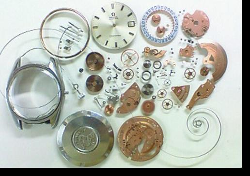 3.オメガシーマスターΩ565自動巻腕時計 分解掃除(オーバーホール)