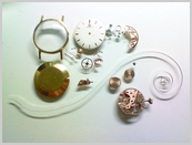 機械式腕時計修理---手巻腕時計分解掃除(オーバーホール)【times-machine.com】《 時計修理 》【三田時計メガネ店@栃木県大田原市前田】