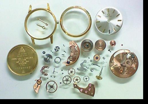 3.オメガΩ620手巻腕時計 分解掃除(オーバーホール)
