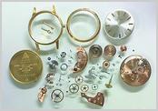 機械式腕時計修理---手巻腕時計分解掃除(オーバーホール)【times-machine.com】《 時計修理 》【三田時計メガネ店@栃木県大田原市前田》】