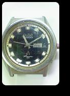 オリエントクロノエースI3自動巻腕時計修理再生前