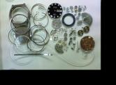 オリエントクロノエースI3自動巻腕時計 分解掃除(オーバーホール)---もうちょっと詳しく・・・拡大版【時計修理】機械式腕時計修理2 ケース・ガラス 新品仕上げ修復再生修理へ