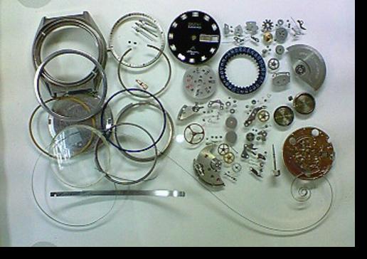 13.オリエントクロノエースI3自動巻腕時計 分解掃除(オーバーホール)