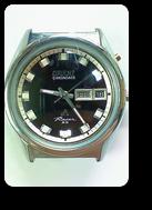 オリエントクロノエースI3自動巻腕時計修理再生後