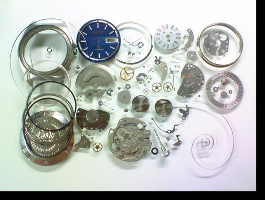 24.オリエントR3自動巻腕時計 分解掃除(オーバーホール)