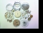 PRECISIONWESTER手巻腕時計 分解掃除(オーバーホール)