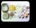 【時計修理】クォーツ式腕時計修理1---ラドーバルボアESA935112クォーツ腕時計修理 ケースのサビ汚れ 分解掃除(オーバーホール)修理【times-machine.com】《 時計修理 》【三田時計メガネ店@栃木県大田原市前田】