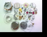 ROLEXDATEJUST2135自動巻腕時計 分解掃除(オーバーホール)---もうちょっと詳しく・・・拡大版【時計修理】機械式腕時計修理4 全舞切れ 全舞部品交換修理へ