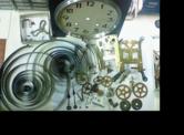 セイコー21日巻カギ巻柱時計 分解掃除(オーバーホール)