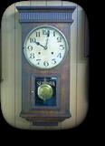 機械式柱時計修理---昭和初期生まれのセイコー8日巻カギ巻柱時計【times-machine.com】《 時計修理 》【三田時計メガネ店@栃木県大田原市前田】