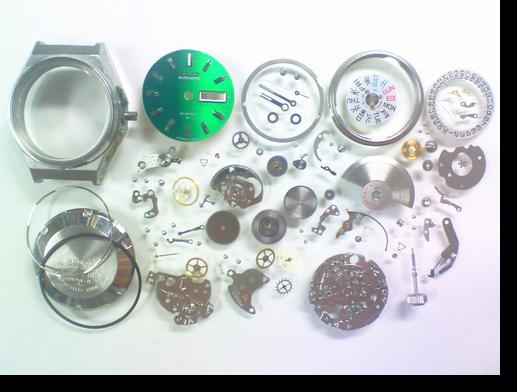 14.セイコージョイフル2206A自動巻腕時計 分解掃除(オーバーホール)