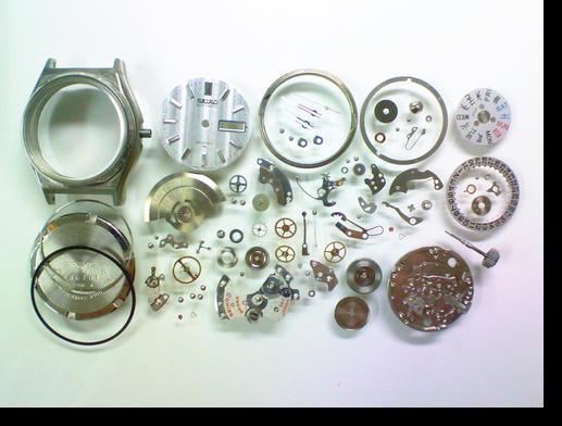 5.セイコージョイフル2406A自動巻腕時計 分解掃除(オーバーホール)