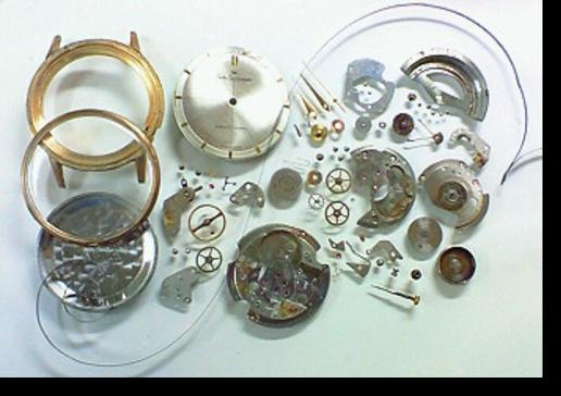 1.セイコースポーツマチック2451自動巻腕時計 分解掃除(オーバーホール)