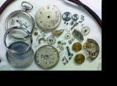 セイコー8手巻提時計(19セイコー鉄道時計) 分解掃除(オーバーホール)