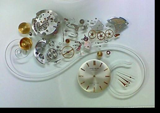 4.セイコークラウンスペシャル341手巻腕時計 分解掃除(オーバーホール)