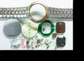 セイコーカデット5E30Aクォーツ腕時計 分解掃除(オーバーホール)