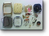 セイコーシャリオ5P31Aクォーツ腕時計 分解掃除(オーバーホール)